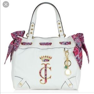 Sold Out Juicy Couture BNWT Black Label White Bag!